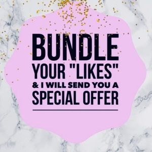 TODAY ONLY 10% off bundles of 3 or more.